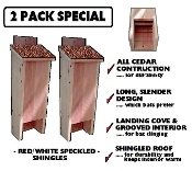 Bat House 2 PACK