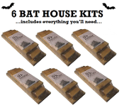 6 BAT HOUSE KITS