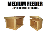 Medium Feeding Shelter Open Front