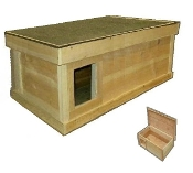 EXTRA LARGE Outdoor Cat House