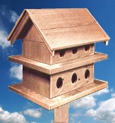 Purple Martin House - Natural Cedar