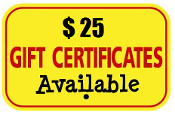 Ark Workshop Gift Certificates