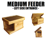 Medium Feeding Shelter left side enter