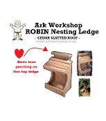 Robin Dove House Nesting Ledge