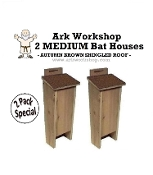 Ark Workshop Bat House 2 PACK