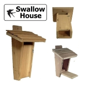 Swallow Birdhouse - Slot Entrance